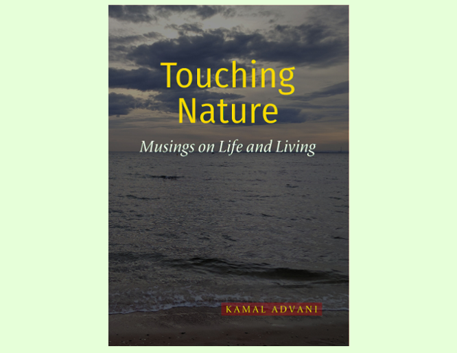 Touching Nature by Kamal Advani Book Cover Image